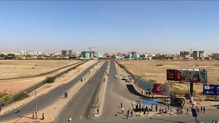 انتشار أمني في شوارع الخرطوم قرب مقر التمرد