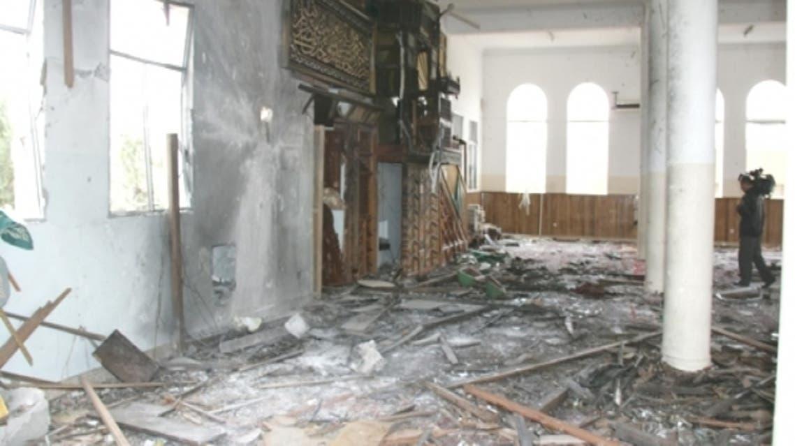 انفجار سابق بمديرية لودر في محافظة أبين