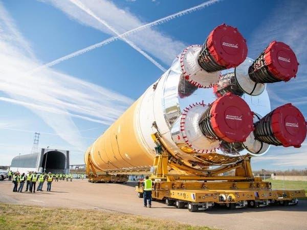 ناسا تتسلم منظومة إطلاق أكبر صاروخ فضائي منذ الهبوط على القمر