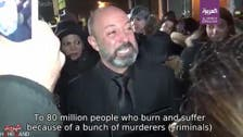 Grieving Iranian-Canadian man calls Iran regime 'criminals' in viral video