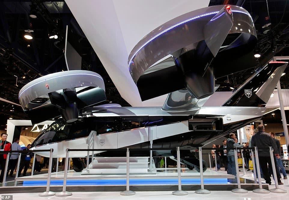 سيارة Bell الطائرة بأجنحة أطول من أجل قدرات أعلى
