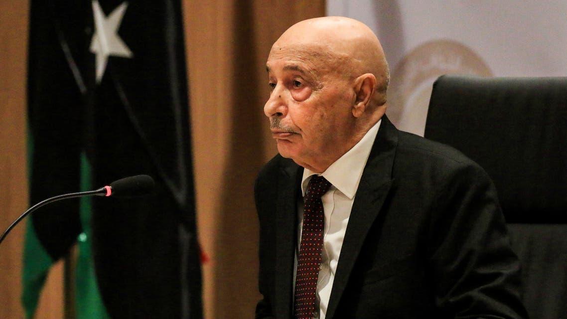رئيس البرلمان الليبي عقيلة صالح(أرشيفية- فرانس برس)