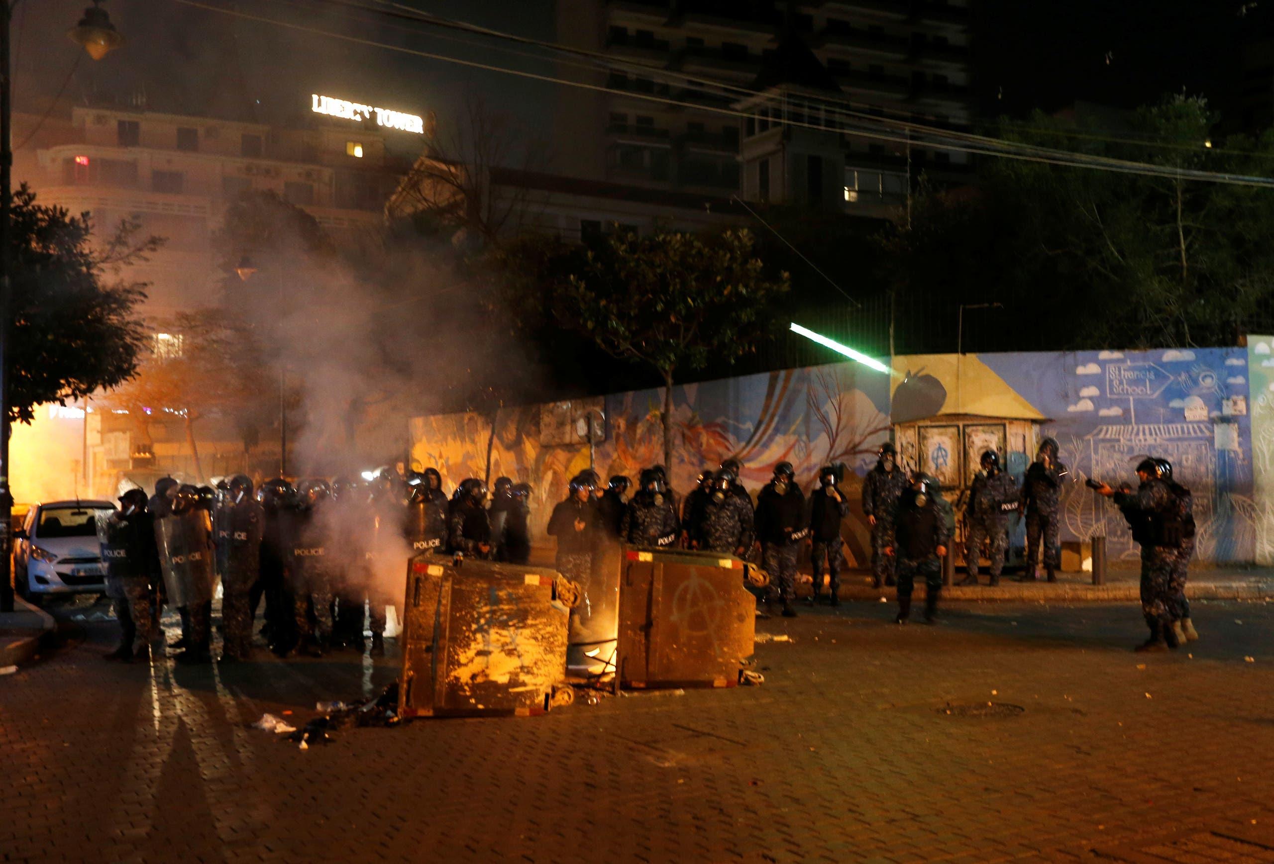 من بيروت (ليل 12 يناير 2020 - رويترز)