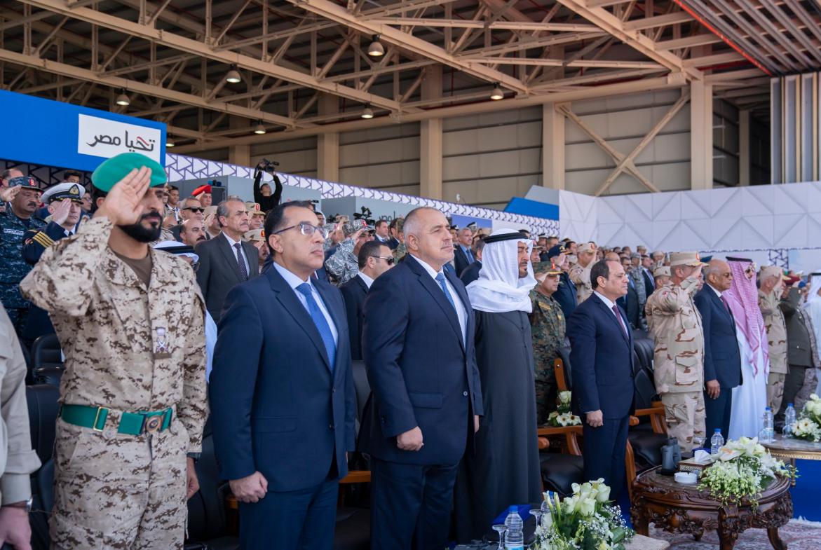 من مراسم افتتاح قاعدة برنيس