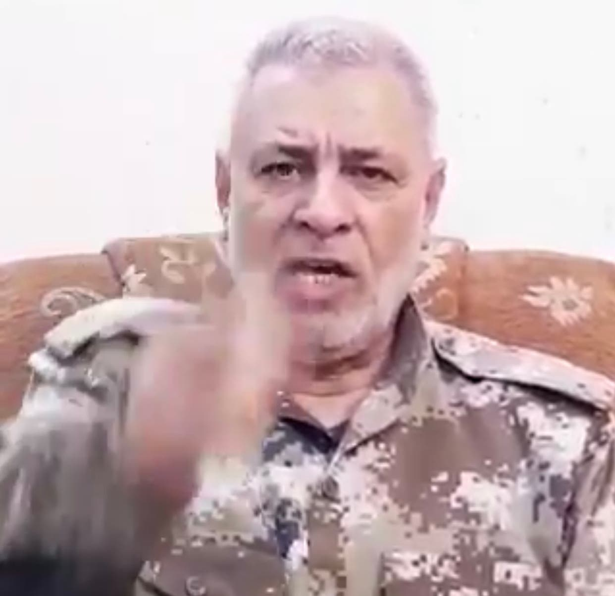 مسؤول العلاقات في الحشد الشعبي في محور الشمال علي الحسيني