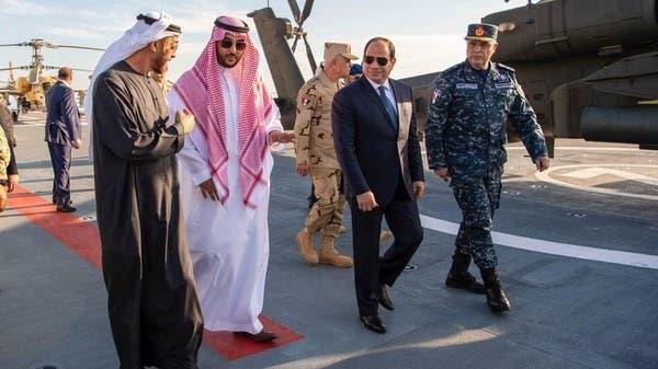 خالد بن سلمان: قاعدة برنيس المصرية محور رئيسي ضد التهديدات بالبحر الأحمر