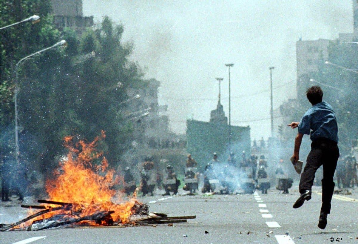 انتفاضة طلبة إيران عام 1999