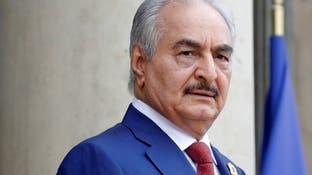 حفتر: الجيش التركي يتدخل بشكل مباشر في معارك ليبيا