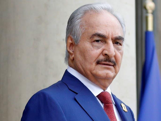 حفتر: لن نلتزم بوقف النار ما لم تحترمه ميليشيات طرابلس
