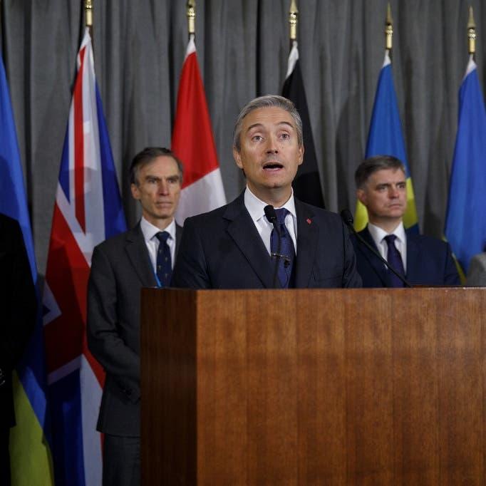 """5 دول تطالب إيران بدفع تعويضات لعائلات ضحايا """"الأوكرانية"""""""