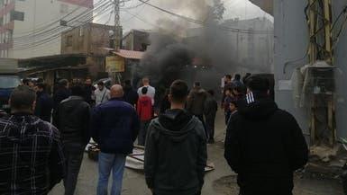قطع طرقات بلبنان.. واحتجاج في الضاحية على إهمال حزب الله