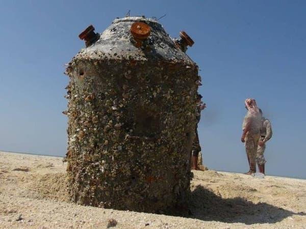 اليمن.. العثور على لغم بحري إيراني الصنع بالبحر الأحمر