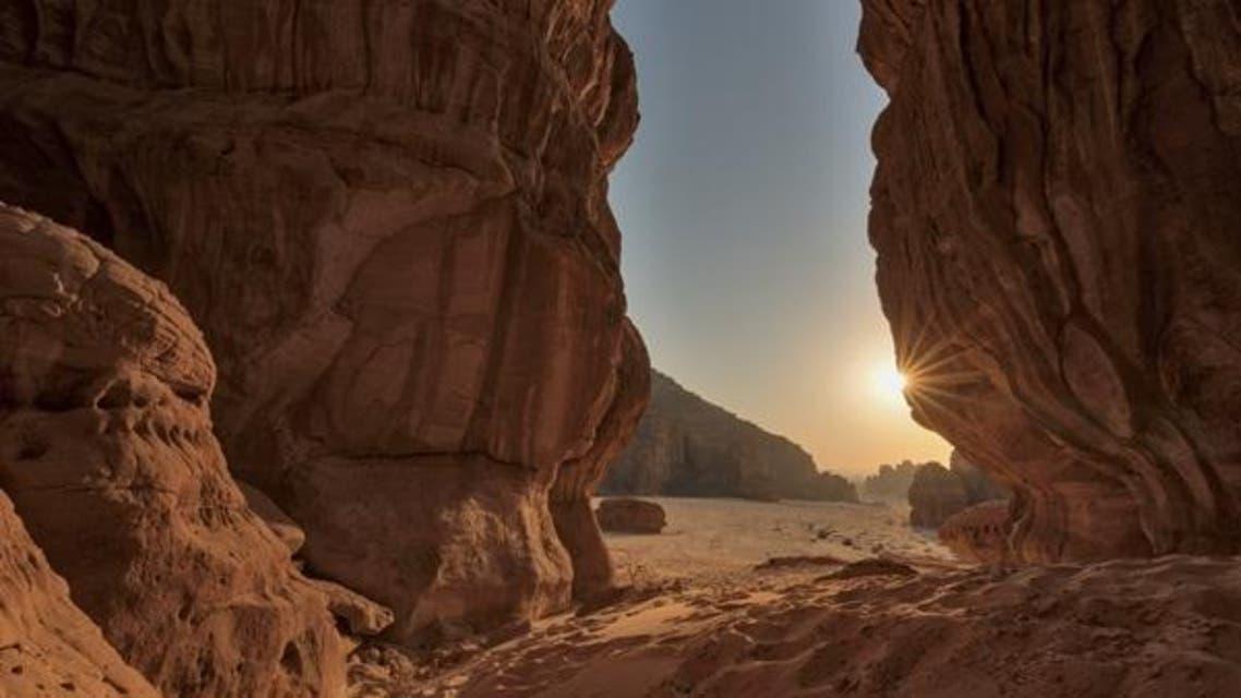 Canyon in Ashar, AlUlla,