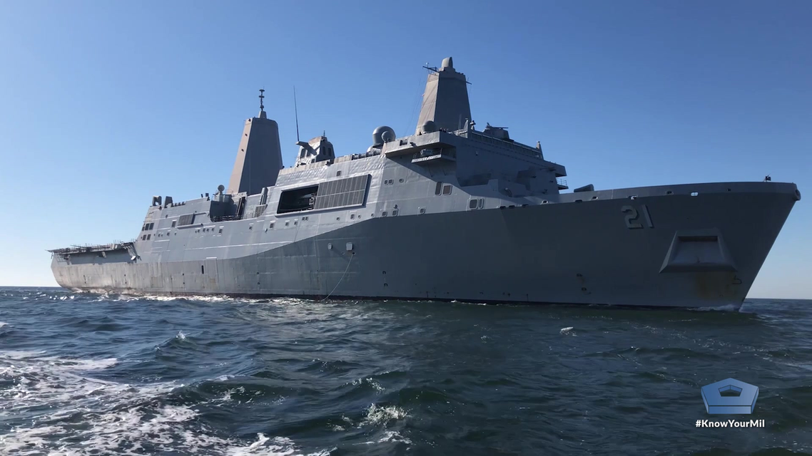 المركبة الأميركية يو إس إس نيويورك .. تصميم أنيق وتسليح متطور ولمسة وفاء