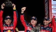 ساينز يفوز برالي داكار للمرة الثالثة وبرابيك بطلاً للدراجات النارية