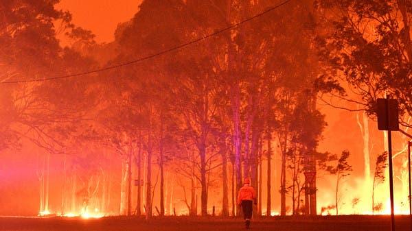 عواصف تؤدي الى إخماد الحرائق في شرق أستراليا
