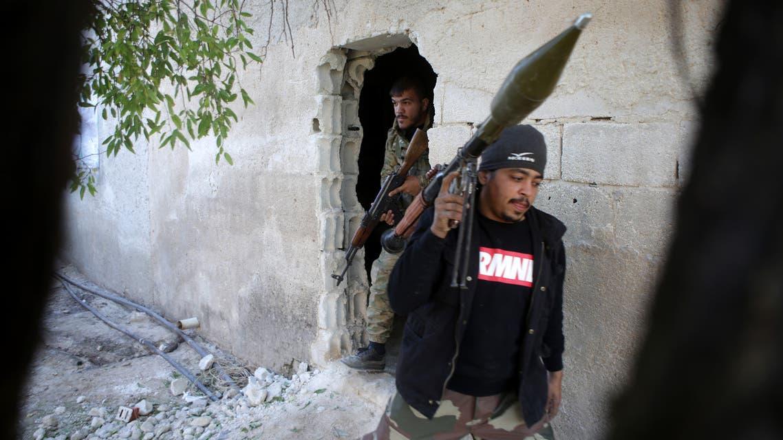 فصائل سورية مدعومة من أنقرة (فرانس برس)