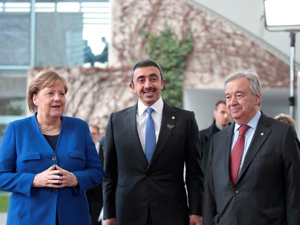 وزير الخارجية الإماراتي: ندعم تحقيق الأمن في ليبيا