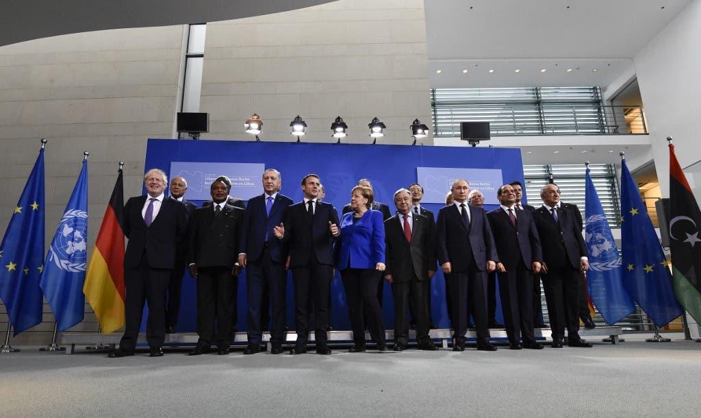 قمة برلين 19 يناير فرانس برس