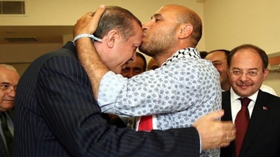 قبلة أردوغان