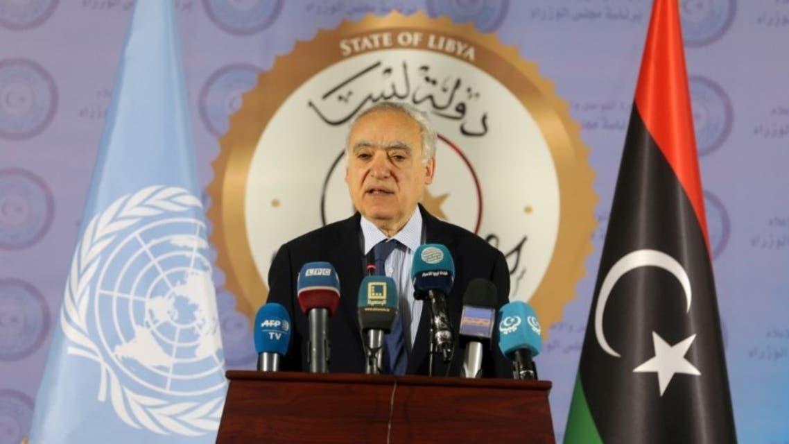 لمبعوث الأممي إلى ليبيا غسان سلامة (رويترز)