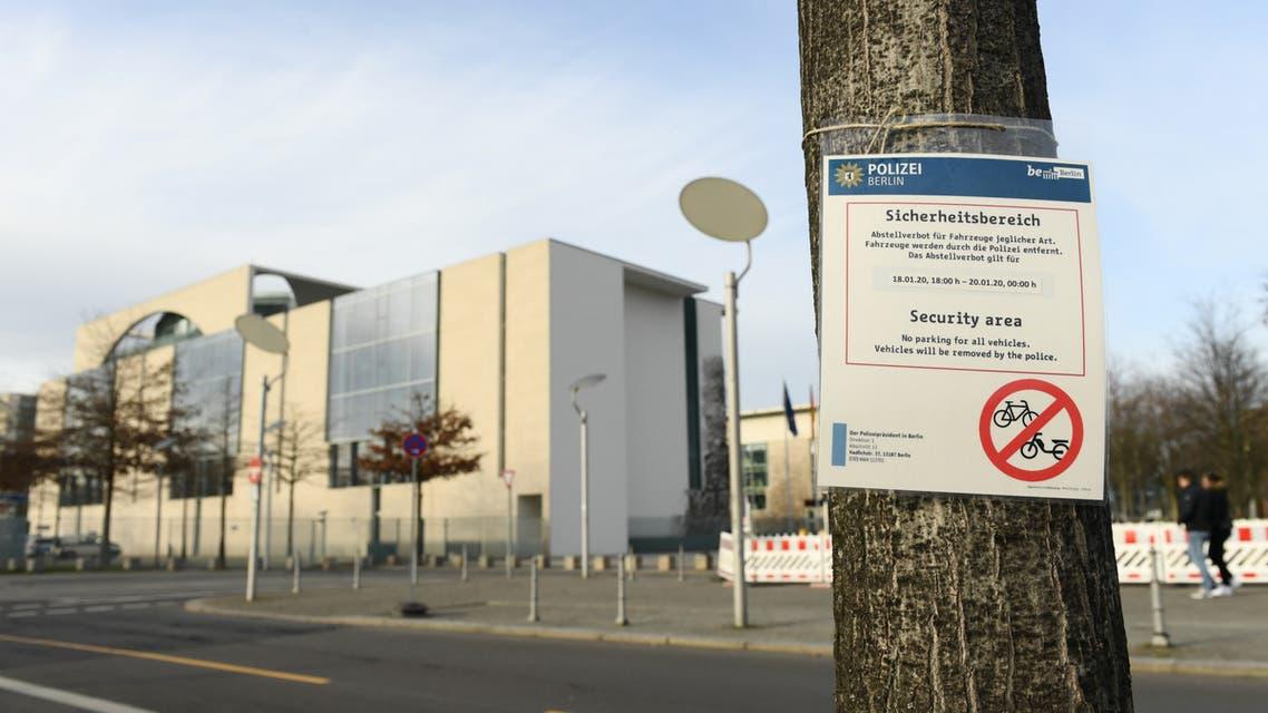 صورة المقر الذي تعقد فيه قمة برلين حول ليبيا (رويترز)
