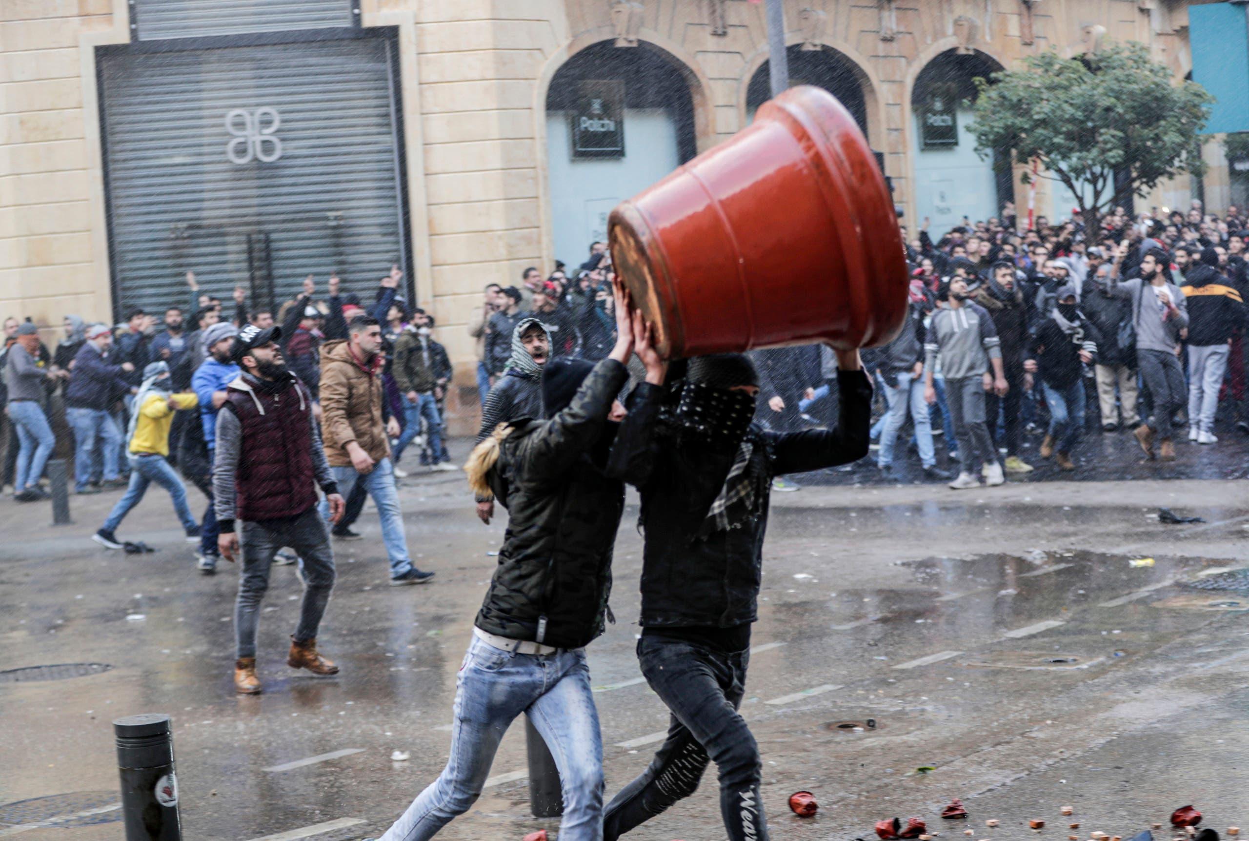 من وسط بيروت (18 يناير- فرانس برس9
