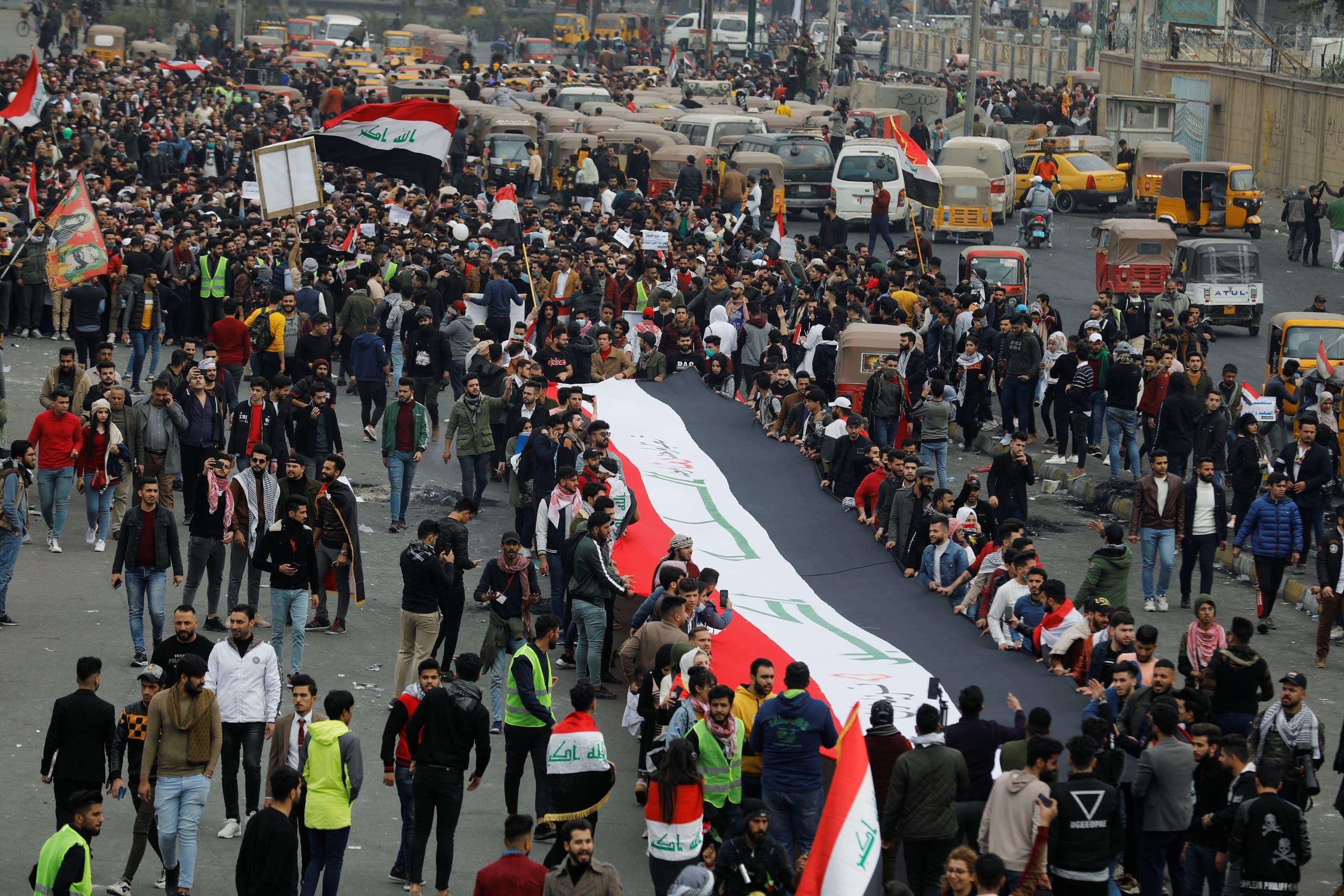 من بغداد يوم الأحد