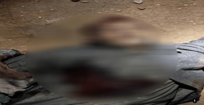 """جثة المدعو """"أبو الورد العراقي"""""""