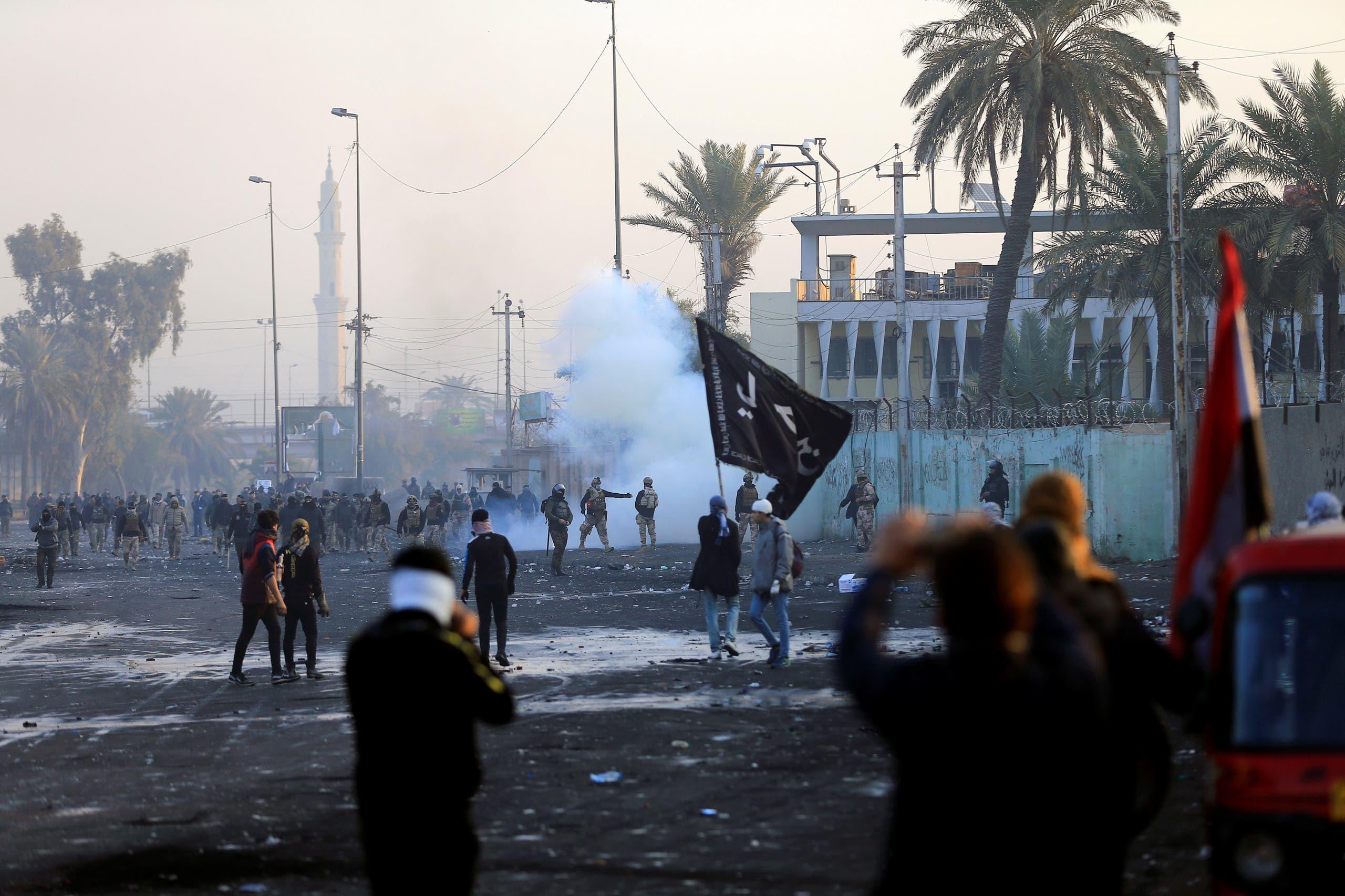 من وسط بغداد(20 يناير- رويترز)