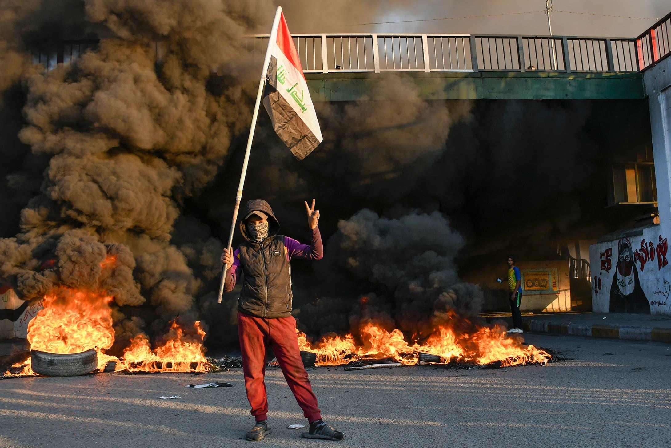 من الناصرية جنوب العراق (19 يناير 2020- فرانس برس)
