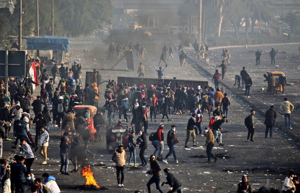 وسط بغداد 20 يناير - فرانس برس