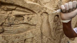 معبد فرعوني بمنزل عامل مصري..السلطات تحقق وهذه التفاصيل