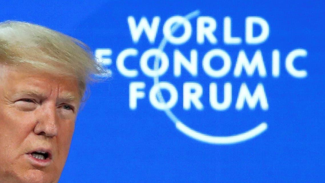 ترمب دافوس 2020