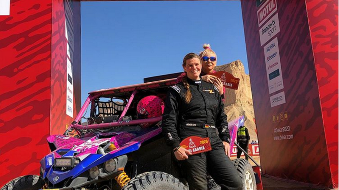 All female team at Dakar Rally (Supplied)