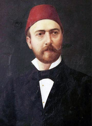 صورة لسعد الله باشا أحد ممثلي الأتراك بمؤتمر برلين