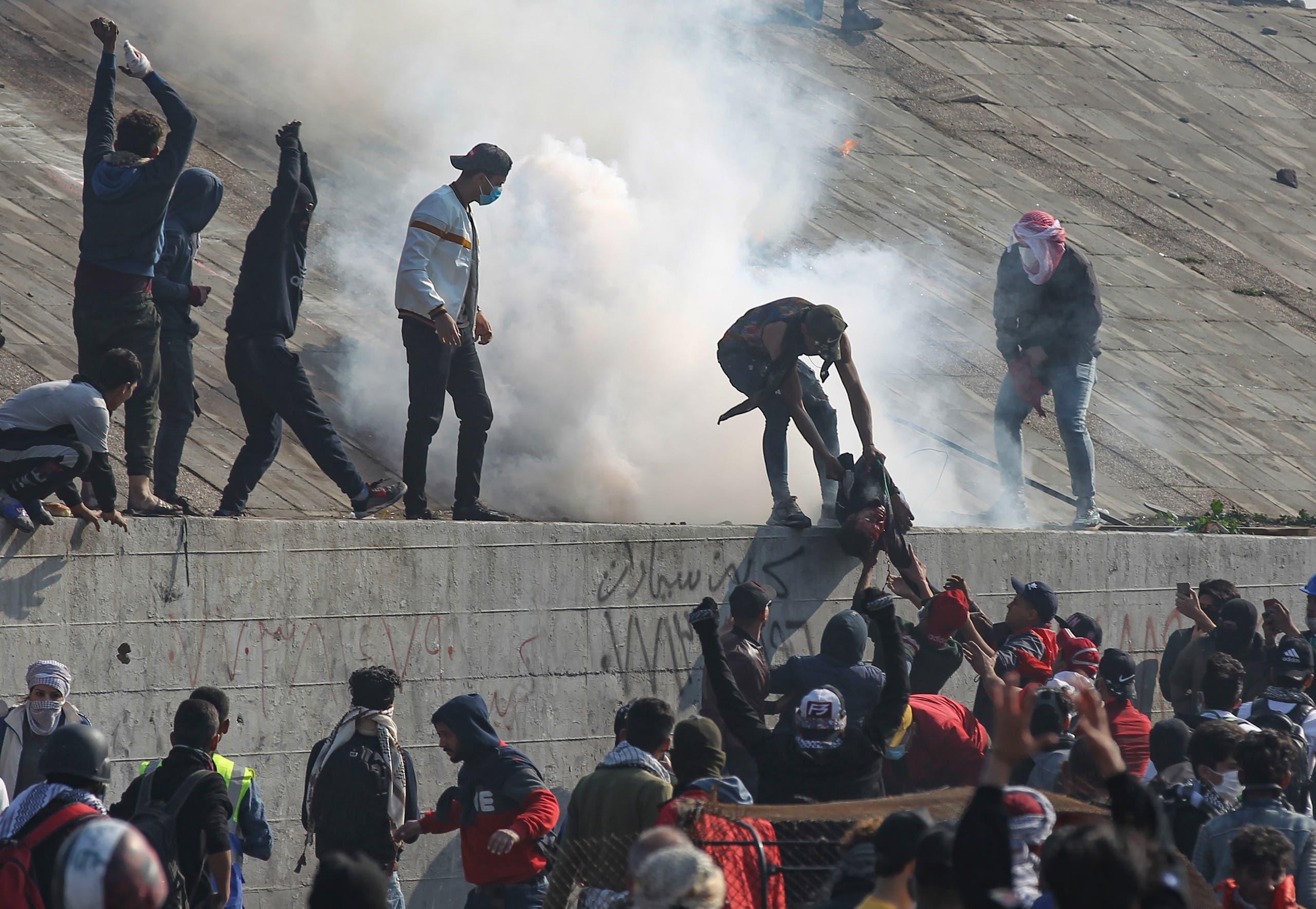 من وسط بغداد( 21 يناير- فرانس برس)