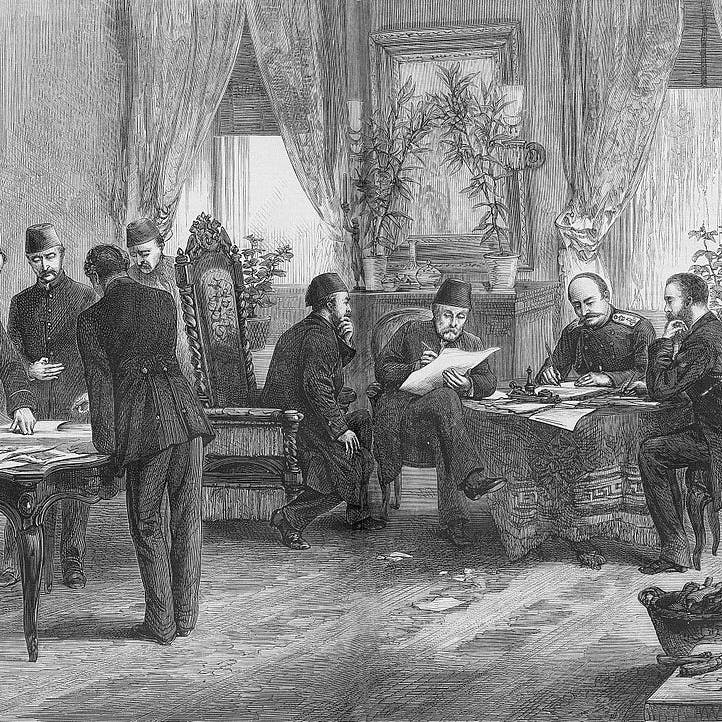 """هكذا خرج الأتراك مهزومين من """"مؤتمر برلين"""" عام 1878"""