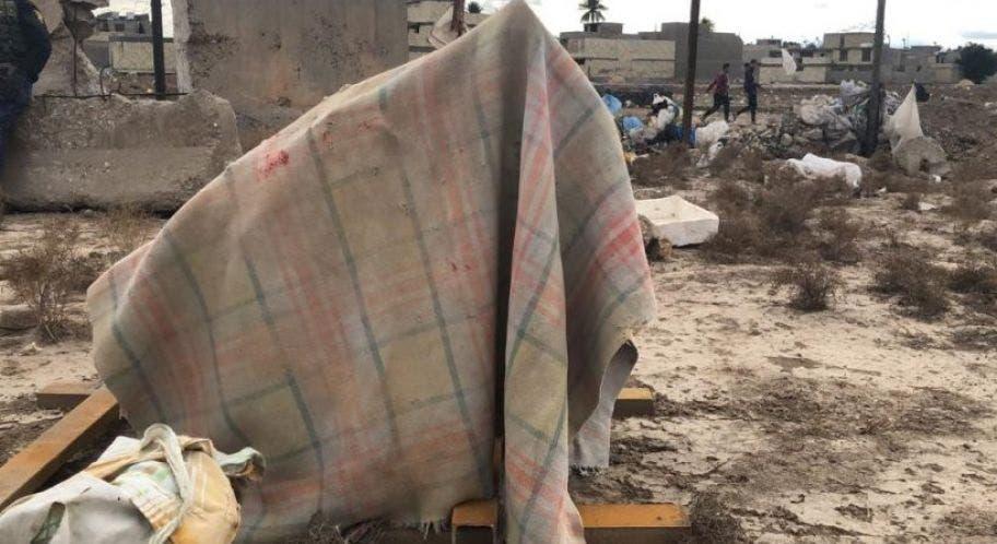 منصات إطلاق الصواريخ التي استهدفت السفارة الأميركية