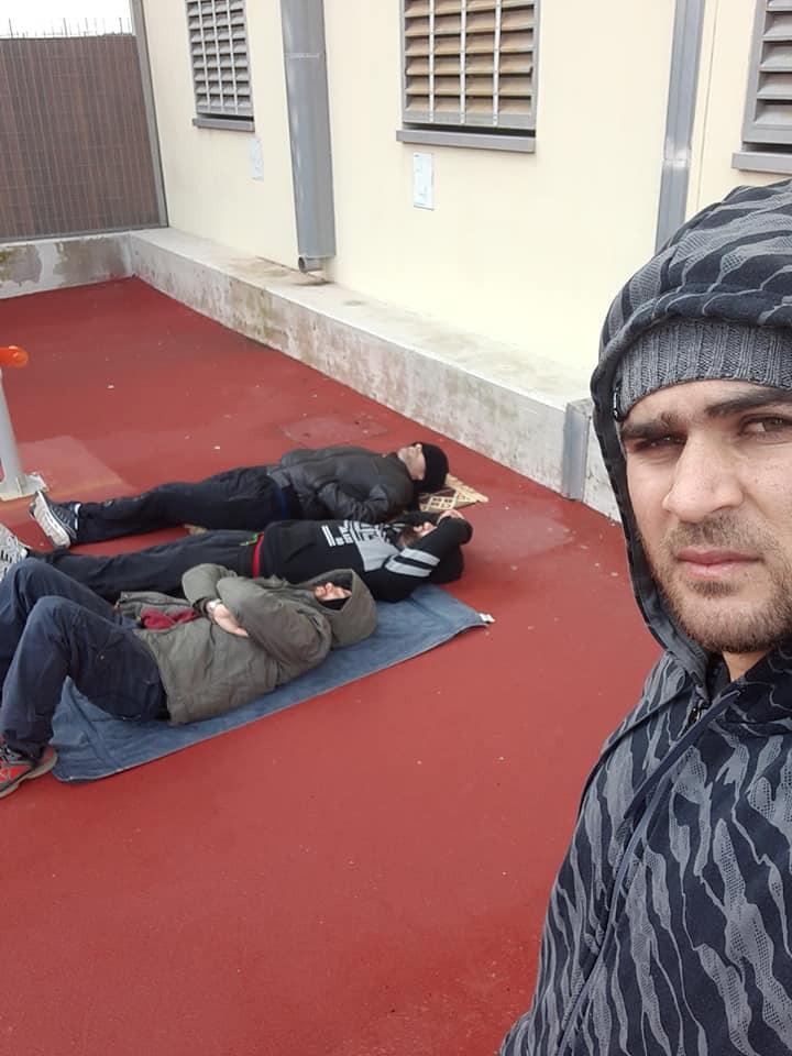 محتجزون سوريون في قبرص
