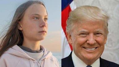 """ترمب: كنت أتمنى لقاء المراهقة غريتا """"صديقة المناخ"""" بدافوس"""
