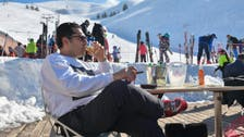 Lebanese elites rise above crisis and protests – and take to the ski slopes