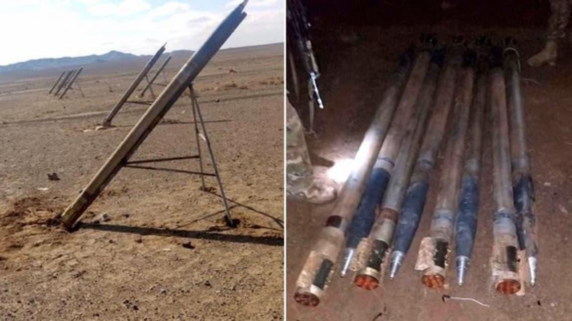 راکتهای ساخت ایران در افغانستان