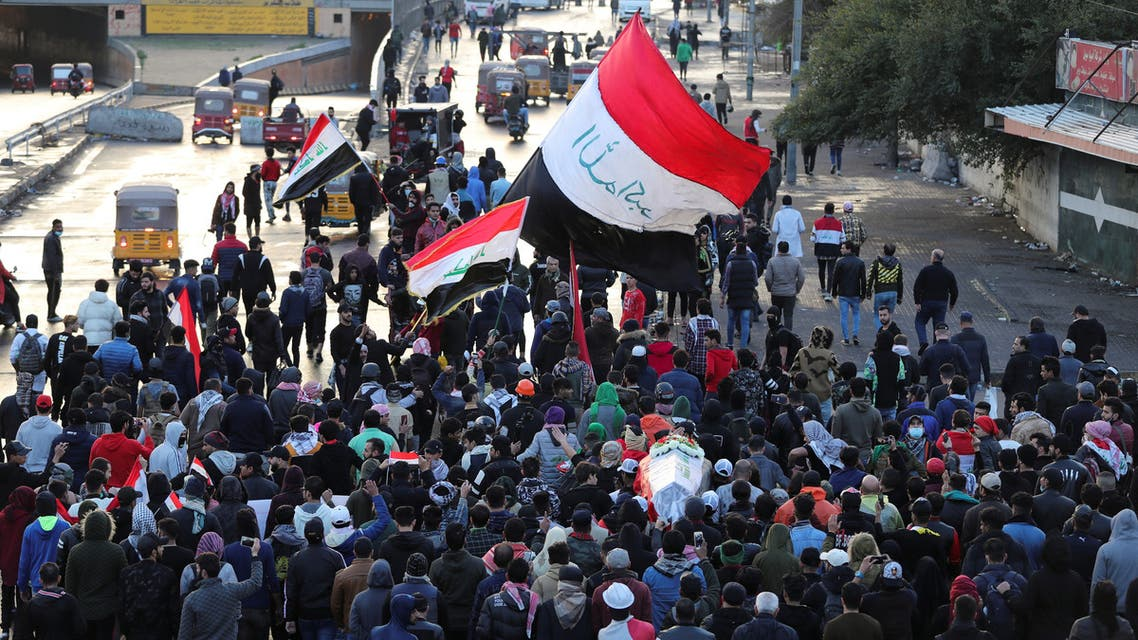 من احتجاجات العراق