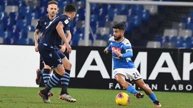 نابولي يهزم لاتسيو ويتأهل لنصف نهائي كأس إيطاليا