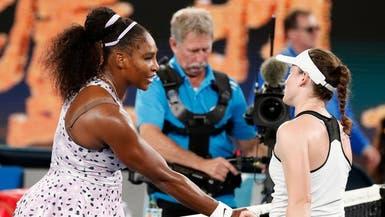 سيرينا ويليامز تتأهل للدور الثالث في أستراليا المفتوحة بفوزها على زيدانسيك