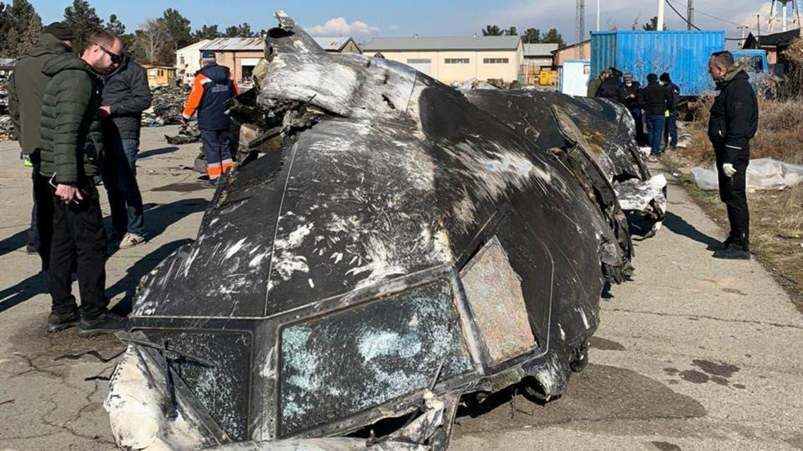 Ukrainian plane crash downed by Iran