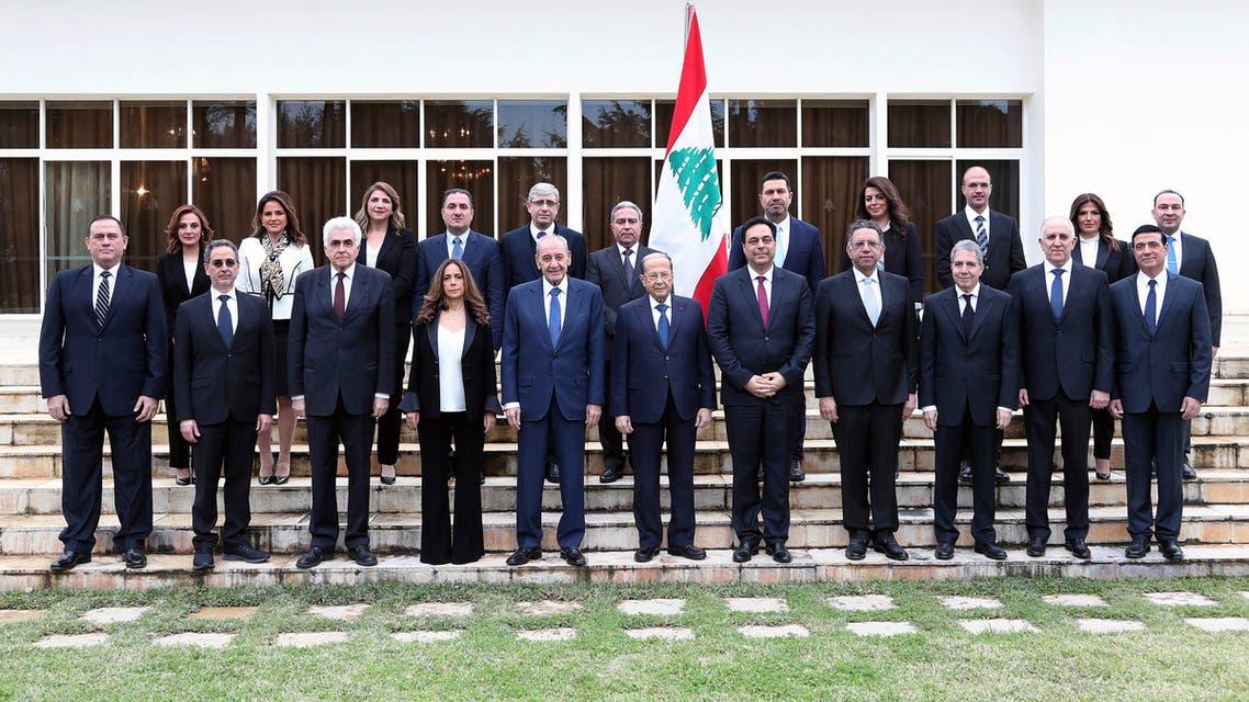 الحكومة اللبنانية حكومة لبنان وكالات 22 يناير 2020