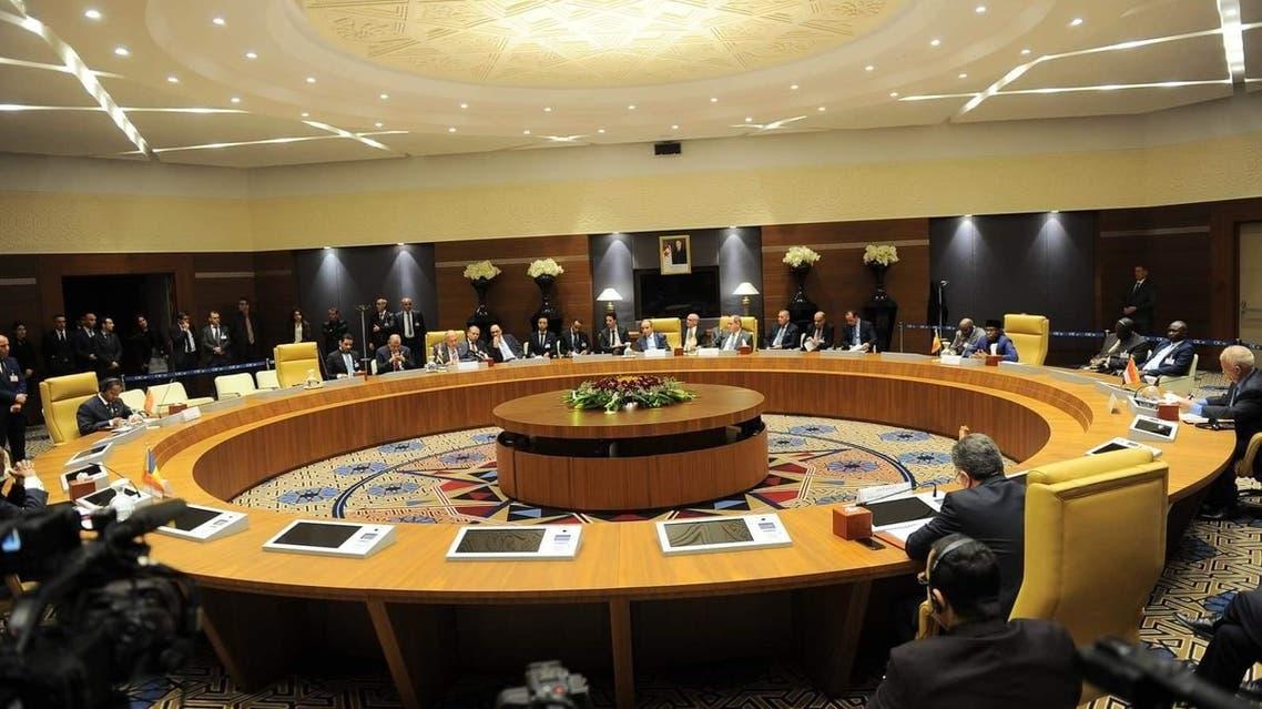اجتماع الجزائر حول ليبيا
