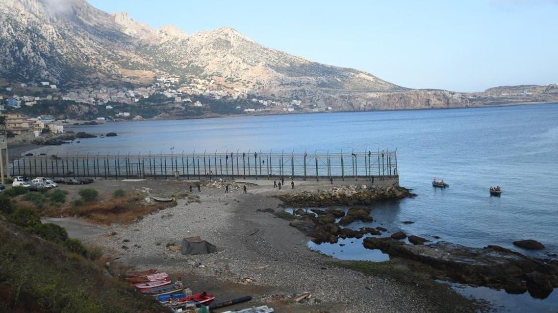 Spanish territory of Ceuta. (File photo: AFP)